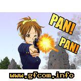 city_hunter gun hirasawa_ui k-on parody random_image // 1100x778 // 274.3KB